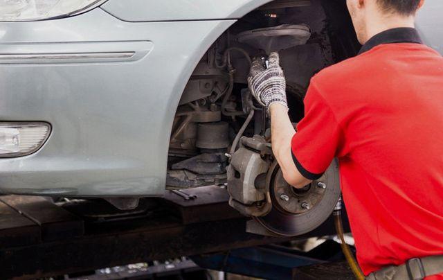 New brakes installed