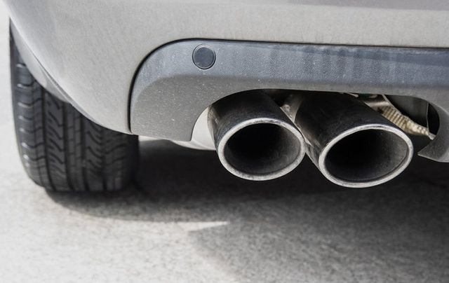 faulty exhaust system