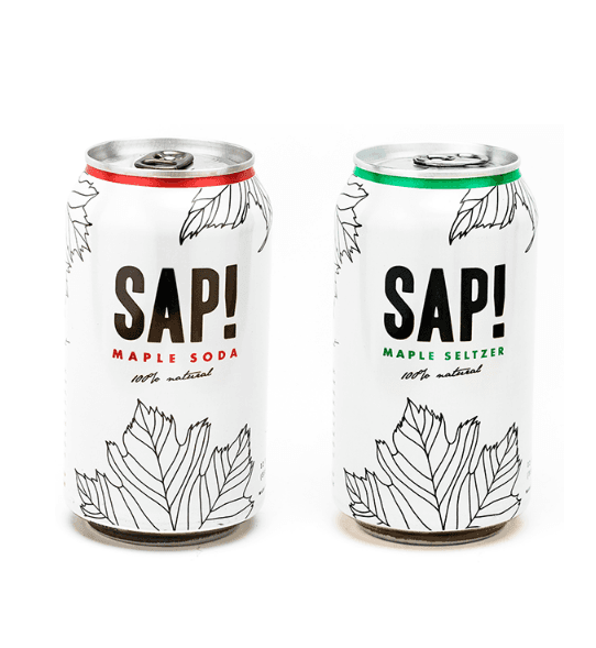 SAP! maple beverages available in canada through chef pola