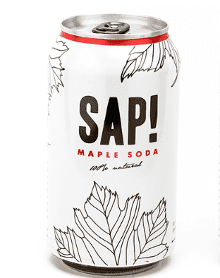 SAP! Maple Soda available in Canada through Chef Pola!