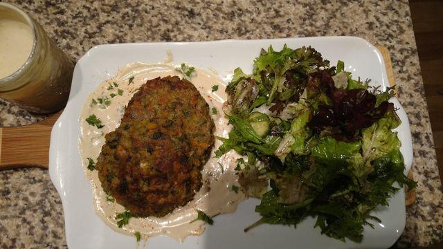 Anti-inflammatory recipes by Chef Pola - Wild Mushroom burgers