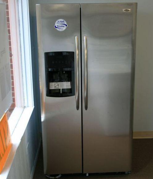 Crosley Side By Side Refrigerators Model CRSH268MS