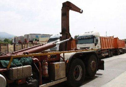 trasporto rifiuti containers
