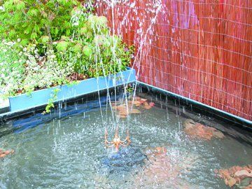 Electrical services - Palgrave, Norfolk -electrical water feature - DAVID PEACHEY ELECTRICAL AND MECHANICAL