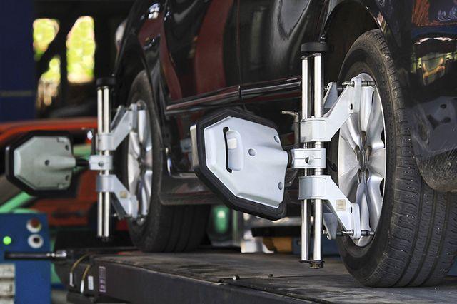 MOT testing for tyres in Blyth