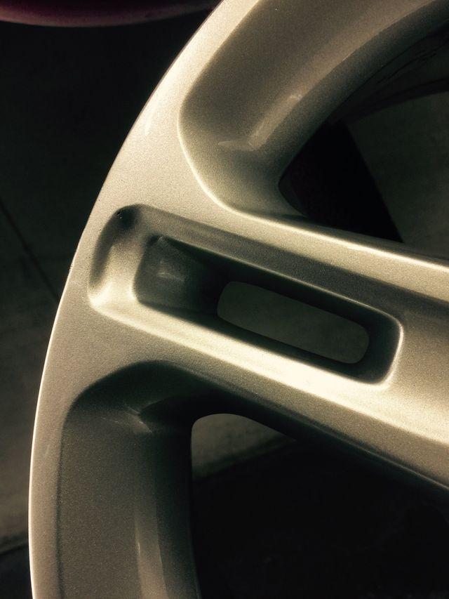 Alloy wheel repair processes