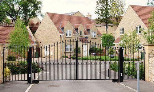 customised steel gates