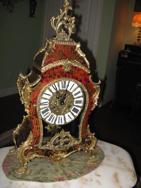 Antique clock from estate sale