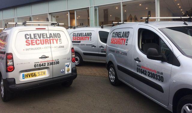 Cleveland work van