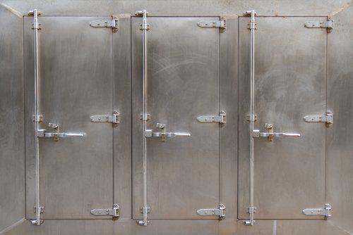 tre celle frigorifere industriali