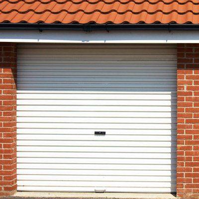 pattern style garage door