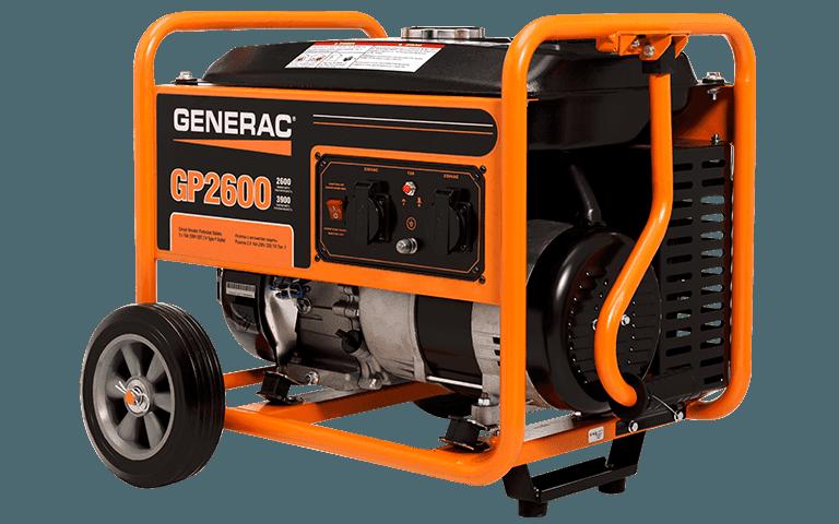 GENERAC GP2600 PORTABLE GENERATOR