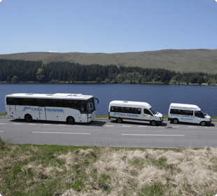 Try our handy bus service to get you to your destination. Call 01685 37 1012