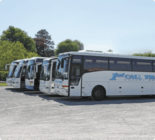Find out more about our coaches by calling 01685 37 1012