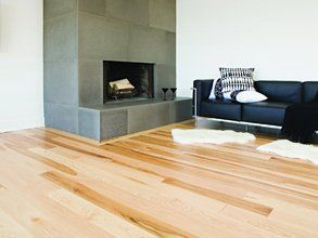 polished wooden floors