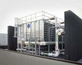 Industrial external ventilation