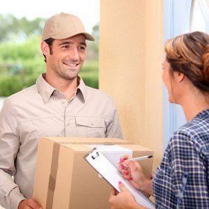 Door-to-door delivery