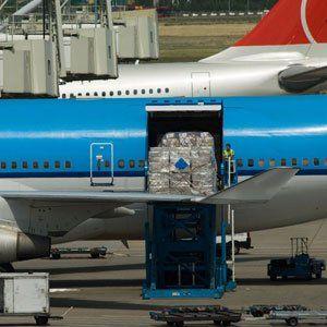 Air freight door-to-door service