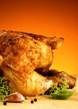 pollo con forno a legna