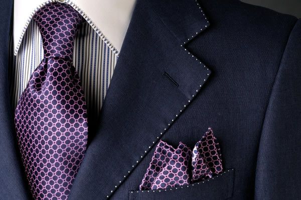 Clean suit and tie tailored in Wellington