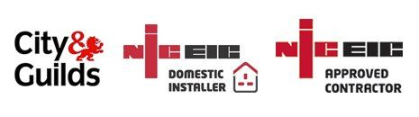 City & Guilds NICEIC logos