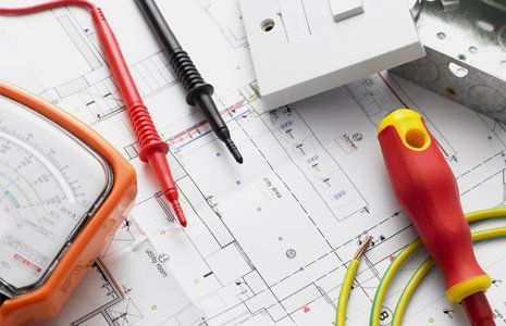 electrical device installation plan