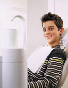 Dentist - Morcambe - Dr N.H Gokul - Boy at dental
