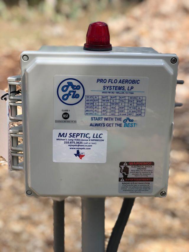 Alarm System | San Antonio, TX | MJ Septic