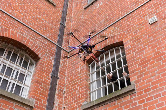 Prison surveillance drones
