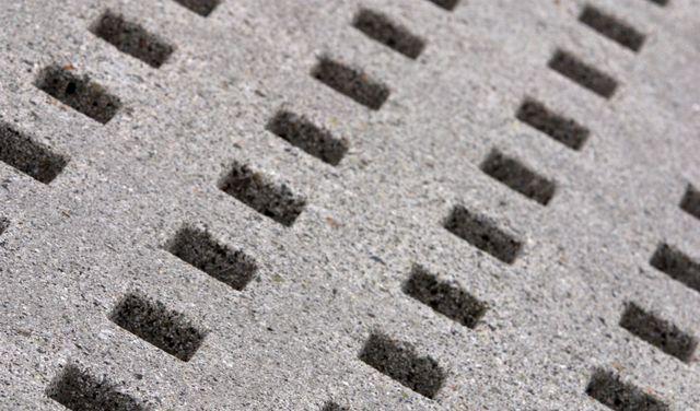 Decorative concrete sidewalk in Lincoln, NE