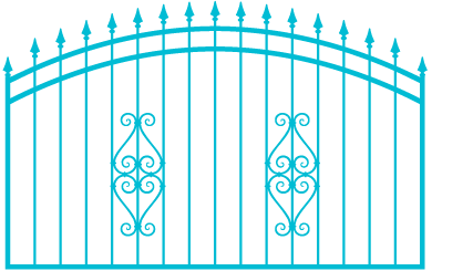 vector of gate fabrication in Oahu