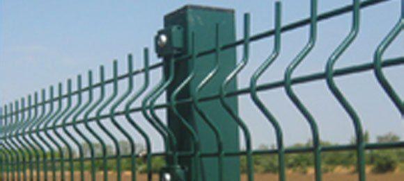 绿色安全栅栏