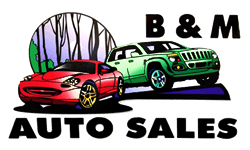 B & M Auto Sales Logo