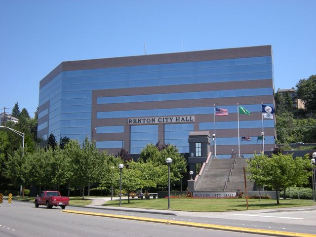 City Hall Building in Renton, WA