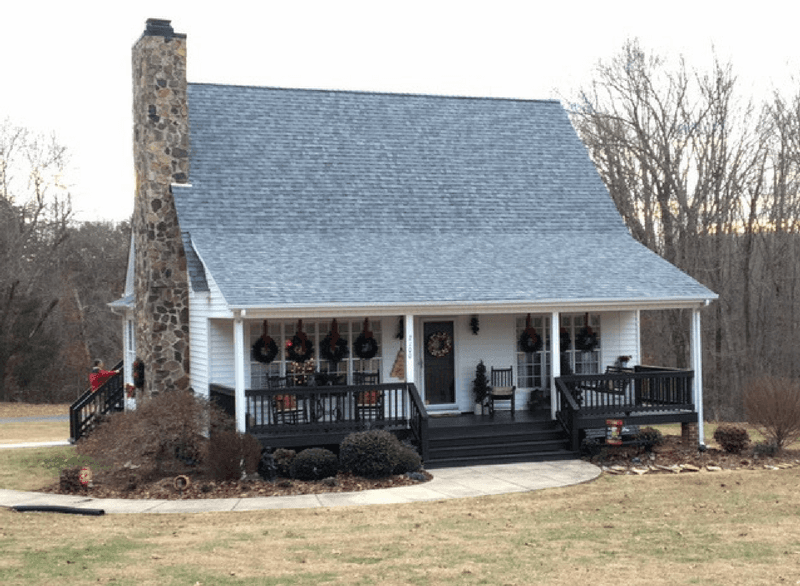 Cottage's roofing done by roof replacement experts in Eden, NC
