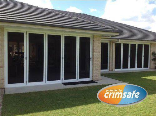 Crimsafe screens and doors