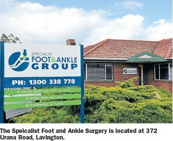 foot & ankle location