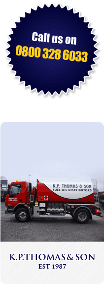K P Thomas and Son - Pembrokeshire - Call us on 0800 328 6033