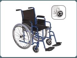 Vendita di carrozzelle per disabili.