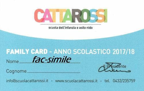 family card 2017-2018