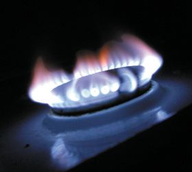 Gas services - Caerphilly, Mid Glamorgan, Wales - Gaslec Services - gas on stove