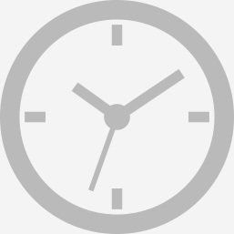 Clock icon to make an appointment for a healthy glow from head to toe