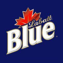 Labatt Blue Beer label