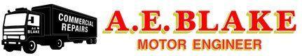 A.E. Blake logo