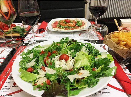 piatto vegetariano-Reggio Emilia