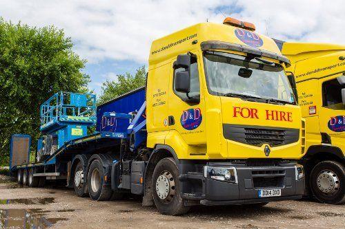 low loader trailer hire