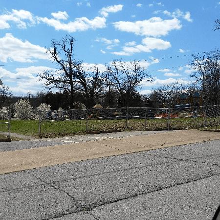 Industrial 4' Chain Link West Plains Childrens Park