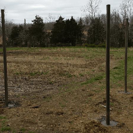 8' Tall Game Fence Missouri and Arkansas Border