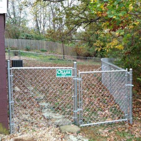 Residential Chain Link Fence West Plains, Missouri