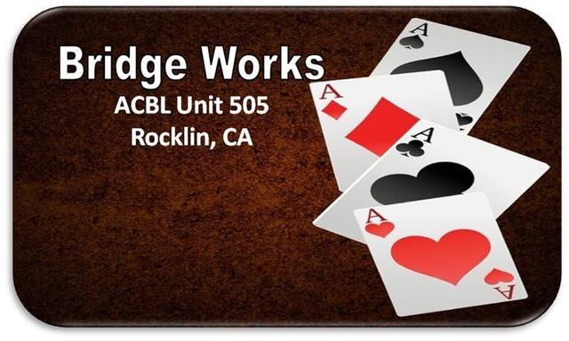 Bridge Works Bridge Club Rocklin, CA